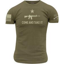 Grunt estilo venir y tomarlo 2A Edición Camiseta-Verde Militar