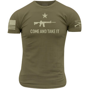 Grunt Style Come and Take It 2A Edition T-Shirt - Military Green