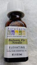 Aura Cacia 100% Pure Essential Oil - Balsam Fir Needle - Elevating - .5 fl oz