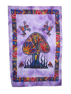 Indian Cotton Mandala Poster Wall Hanging Hippie Bohiman Throw Table Decor Art