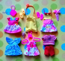 🍒🍒🍒Lot of Barbie Kelly doll clothes,accessories plus shoes #D🌞🌞🌞