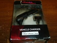 Rocketfish RF-A4M55 Car/Vehicle Charger for 30pin  Apple® iPad®, iPod® iPhone®