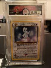 Vintage MINT 9.5 Togetic Neo Genesis Holo Unl. Pokemon 2001 WOTC
