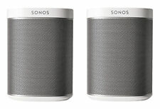 OB Sonos Play:1 SET OF TWO Wireless Speakers (white)- 2 SPEAKERS IN TOTAL