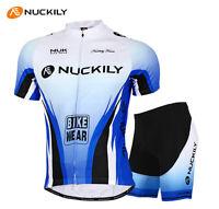 Atmungsaktiv Herren Radfahren Radtrikot Fahrradtrikot & Fahrradhose Stellen Blau