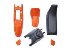 Yamaha PW50 PY50 Plastic Fender + Seat + Fuel Tank Motorcycle Parts(Orange)1 Set