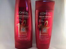 NEW Loreal Color Vibrancy Nourishing Shampoo And Conditioner 12.6 oz