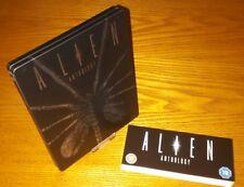 ALIEN ANTHOLOGY Blu-ray steelbook UK rare OOP region b free (ships worldwide)