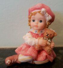 "Montefiori Collection ""Little Girl & Her Teddy Bear"" Italy"