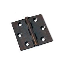 Cerniera Piana per Porta a Libro in Acciaio Bronzato 89x76 mm conf 2 Pz