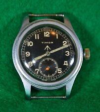 Timor Watch WW2 SPORCA DOZZINA WWW completamente funzionante nelle condizioni originali.