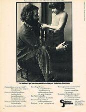 PUBLICITE ADVERTISING 045  1971  CREATEX -JEUNESSE  vetements pour garçon THOMAS