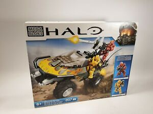 UNSC FLAME WARTHOG - HALO Mega Bloks 207 Pcs - Rare 343 Industries CYY44     (2)