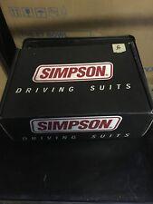 Simpson Racing Suit Pants SKL XL Black 020453