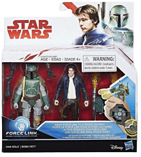 Hasbro Star Wars Han Solo & Boba Fett Action Figure - 2 Pack