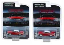 "1958 Plymouth Fury ""Christine"" Regular & Evil 1/64 Diecast Greenlight Set of 2"