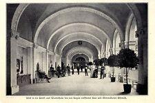 Trink-u.Wandelhalle des neu eröffneten Bades in Eisennach c.1906