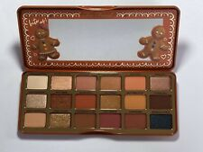 Too Faced Gingerbread Extra Spicy Eyeshadow Palette 100% Authentic Nib