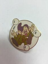 Walt Disney 2000 DOPEY In Bubble Snow White Pin #1343-retired Tie Tack/lanyard