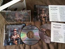 IRON MAIDEN /the x factor /JAPAN LTD 2CD book