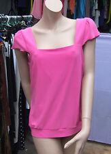 Joseph Ribkoff UK 16 BNWT Fabulous Pink Stretch Jersey Fresh Summer Camisole Top