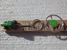 John Deere Tractor Key Ring Motorhead Steering Wheel Christmas Ornament