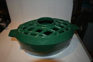 John Wright Cast Iron Wood Stove Humidifier, British Green