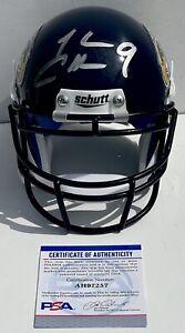 Josh Cribbs Signed Autographed Kent State Golden Flashes Mini Helmet PSA/DNA