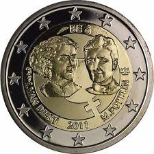 Belgien 2 Euro Münze Internationaler Tag der Frau Gedenkmünze 2011 PP im Etui