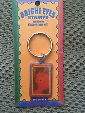 Bright Eyes Stamp Collecting Keychain Fish