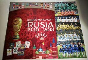 Iconos World Cup Rusia 1930 - 2018 - COMPLETE ALBUM
