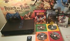 Sony PlayStation 2 PS2 System BUNDLE + Controller + Memory Card + 7 Games !!! P2