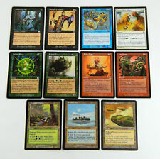 11 Different Magic The Gathering MTG Cycling Cards  Remote Isle Tranquil Thicket