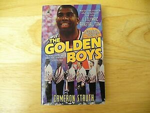 """Book - """"The Golden Boys"""" 92 Olympic Team by Cameron Stauth - Softcover - 1992"""