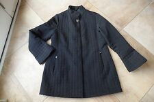 BETSEY JOHNSON Quilted Nylon Snap Front 3/4 Length Light Weight Jacket XL