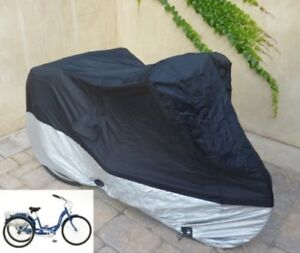 Adult Tricycle Cover For Schwinn Westport In Black Protect Scratches Rain Dirt