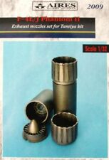 Aires 1/32  F-4E/J Phantom II Exhaust Nozzles for Tamiya kit # 2009
