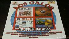 Los Galos 40 Super Baladas 2CD New Nuevo Sealed