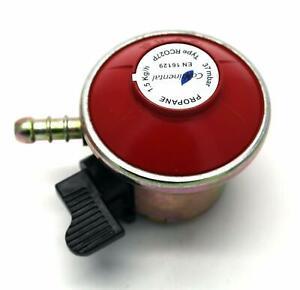 PATIO GAS / BBQ REGULATOR 27mm Clip On 37mbar, 1.5kgh Fits Calor Gas / Flogas