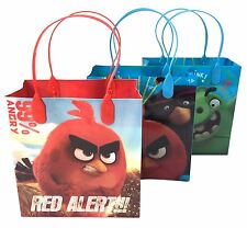 (24ct) The Angry Birds Movie Goodie Bags Birthday Gift Bags Loot Bags Goody Bags