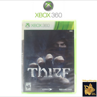 Thief (2014) Square Enix Xbox 360 Game Case Manual Disc Tested Works Amazing A+