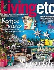 Living Etc magazine Christmas gift guide Festive ideas Dining room trends Lights