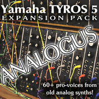 ANALOGUS Expansion Pack for Yamaha Arrangers (Genos, Tyros 5, PSR 975 etc)