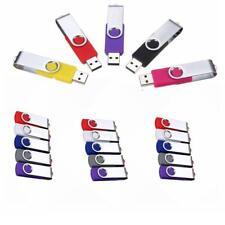 Swivel USB 2.0 Metal Flash Memory U Stick Pen Drive Storage Thumb U Disk Lot SM