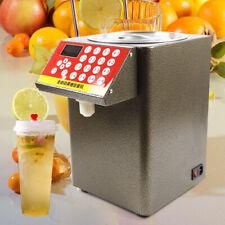 110v 16 Groups Fructose Quantitative Machine Fructose Dispenser Milk Tea Used