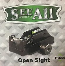 See All M2 Open Delta Triangular Sight Rail Mounted for Rifles Shotguns Pistols