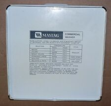 MAYTAG GENUINE OEM WHITE COMMERCIAL COIN OPERATED WASHER LID #214901 #2-14901