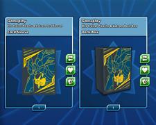 Elite Trainer Pikachu & Zekrom Deck Box Card Sleeves Pokemon Card Online Item