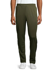 NEW MENS ATHLETIC WORKS GREEN ACTIVE MOISTURE WICKING JOGGERS TRACK PANTS