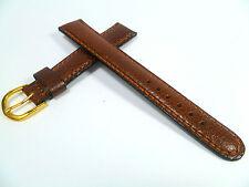 17 mm Marron Bracelet de montre bracelet de montre cuir 1784